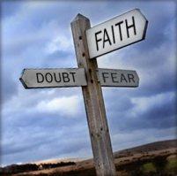faith doubt fear